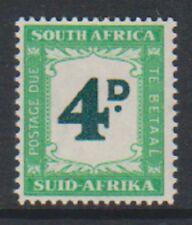 South Africa - 1958, 4d Postage Due - L/M - SG D42