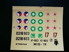 1:72 KP Decal - MiG-19. Without instructions.