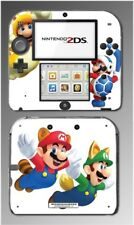 New Super Mario Bros 3D Land Powerup Suits Video Game Skin Cover Nintendo 2DS