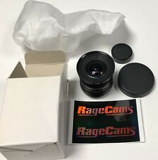 PHF35 HD Canon 3.5mm Manual Iris Lens C-Mount Fish Eye CCD CMOS For Basler Flea3