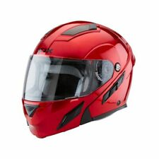 Zox Brigade SVS Modular Motorcycle Helmet Wine Red Adult Sizes