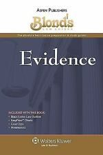 Blond's Law Guides: Evidence