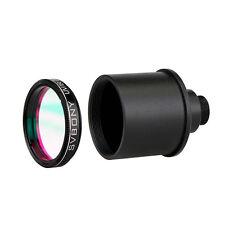 "Brand New1.25"" UV/IR Cut Block Filter w/ Webcam Adapter for CCD Camera/Telescope"