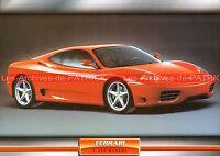 FERRARI F 360 Modena ( F360 ) 1999 : Fiche Auto Collection
