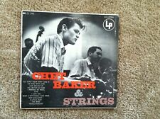 "CHET BAKER AND STRINGS LP Original 1954 Deep Groove ""Notes & Mic"" Label"