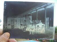 Ancienne Photographie Négatif Plaque de Verre Expo d'un Brocanteur Antiquaire