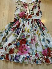 Dolce & Gabbana Kleid Blumen Gr. ital. 36 D&G wunderschön