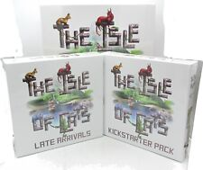 Isle of Cats TCOK601 (Kickstarter Edition + Late Arrivals) Board Game 1-6 Player