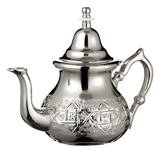 Moroccan Teapot Silver Free Teapot Holder Engraved Authentic Traditional Morocco