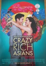 "Crazy Rich Asians Theatrical Movie Poster 27 x 40 ""ORIGINAL MOVIE THEATER SUPPLY"