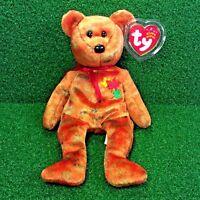NEW Ty Beanie Baby KANATA The Bear NEW BRUNSWICK Canadian Plush Teddy - MWMT