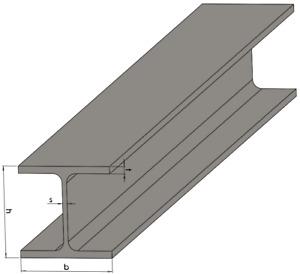 Stahlträger S235 verzinkt - HEA IPE UNP Doppel-T Eisen Metall Stütze Pfeiler