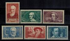 "(a33) timbres France n° 380/385 neufs** année 1938 ""MNH"""
