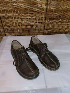 Dr. Doc Martens 11232 Brown Split Toe Oxford Shoes UK 10 Men's US 11