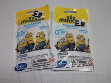 2 Lot Despicable Me Blind Bag  - Foil/Surprise Minion Challenge Card Game Toy