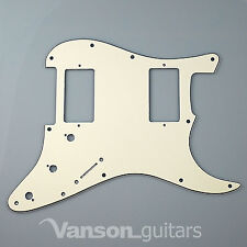 New Vanson Scratchplate Pickguard for Fender® Stratocaster® Strat®* projects HH