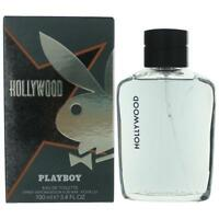 Playboy Hollywood Cologne by Coty, 3.4 oz EDT Spray for Men NEW