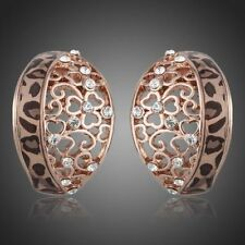 Swarovski Stud Rose Gold Fashion Earrings