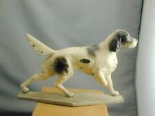 Rare Morten's Studio English Setter Pointer Silhouette Figurine