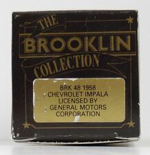 BROOKLIN 1958 CHEVROLET IMPALA  BROOKLIN  BRK 48  1:43 (EMPTY BOX ONLY)