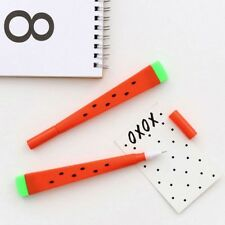 3 Pcs/Set Fruit Watermelon Gel Pen Signing Tool School Office Stationery Gift #