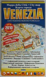 Foldout Map of Venice • Mazzega • 2010 • Used