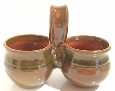 Small Vintage Condiment Holder, planter, trinket jar
