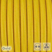 Textilkabel Stoffkabel Pendelleitung Lampen-Kabel 2 - 3 adrig Textile Cable
