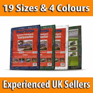 Waterproof Green Camo Camouflage Tarp Tarpaulin Ground Sheet Cover BRAND NEW UK