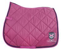 Hochwertige HORKA High Tech GP Schabracke Sattelpad VS  Pony,Saddle Pad,pink