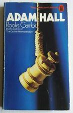 Adam Hall - Rooks Gambit - NEL 1974 {1st thus} - Vintage Crime P/B