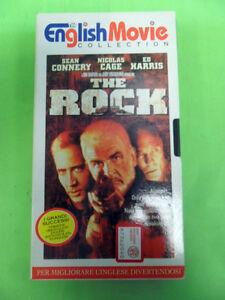 VHS THE ROCK ENGLISH MOVIE COLLECTION 1998 DE AGOSTINI SEAN CONNERY NICOLAS CAGE