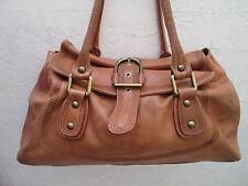 AUTHENTIQUE sac à main NICOLI cuir TBEG vintage bag /