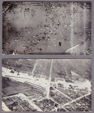 Louisville KY postcard of 1937 flood scenes of stockyards and State Fair Grounds