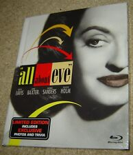 All About Eve (Blu-ray Disc, 2011, 60th Anniversary), New & Sealed, Bette Davis