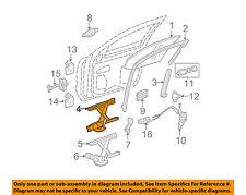 GM OEM Front Door-Window Regulator 15919130