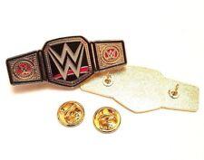 WWE World Heavyweight Champion Belt, WWF Hasbro Enamel Pin Badge Free Postage