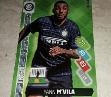 CARD ADRENALYN 2014/15  CALCIATORI PANINI INTER M'VILA CALCIO FOOTBALL
