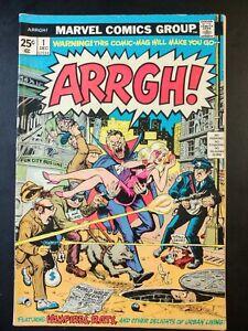 ARRGH! #1 (1974 MARVEL Comics) GD/VG Book