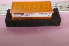 muRATA DMS-30PC-1-AS-C  Digital Panel Meter DATEL