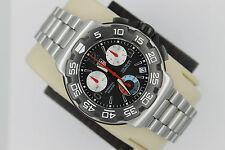 Tag Heuer CAC1110.BA0850 Formula One Black Chronograph Watch Mens Mint Red Box