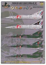 Wingman Models Decals 1/48 DASSAULT MIRAGE 5F French Air Force