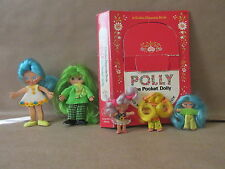 Polly the Pocket Dolly with Matching Storybook Golden Press 1966 Platmate book