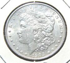 1903 - P $1 Morgan Silver Dollar BU Nice Coin Private Seller 30 Day Guarantee