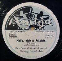 """Bruno Klennert Quartett - Hallo, kleines... - Pi-Pa-... - Amiga - /10"""" 78 RPM"""