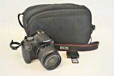 Canon EOS Rebel T7 24.1MP Digital SLR Camera Body 18-55mm Lens Bag Battery Card