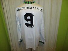 "Borussia Mönchengladbach asics Langarm Trikot 1992-1994 ""trigema"" + Nr.9 Gr.XL"