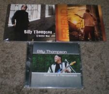 3 Billy Thompson CDs~A Better Man~Friend~Remixed & Remastered~Electric Blues~NEW