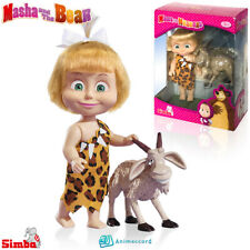 SIMBA Masha and The Bear, Masha & Goat, Doll Toy Gift Box, Cartoon Character