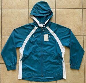 NIKE GOLF Women's Anorak Packable Jacket--Marina Blue--Clima-FIT--Medium-NWT
